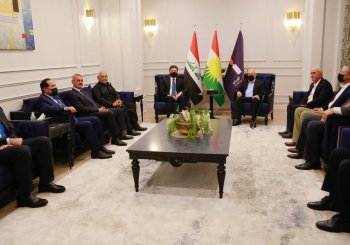 Nechirvan Barzani meets Gorran officials in Sulaimani